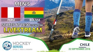 Peru v Bolivia | 2018 Men's Hockey Series Open | FULL MATCH LIVESTREAM