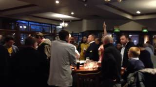 Preston and Arsenal fans in weatherspoons