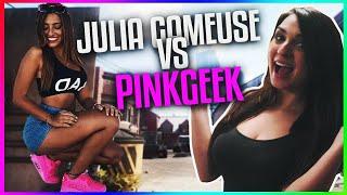 PINKGEEK VS JULIA GAMEUSE !  JE PARLE DE TOUS SANS TABOU