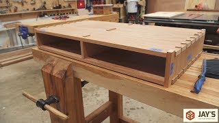 Krenov Inspired Coffee Table - Part 1 - Case Construction