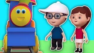 Bob der Zug | Räder auf dem Zug | Kinderlieder und Kinderreime