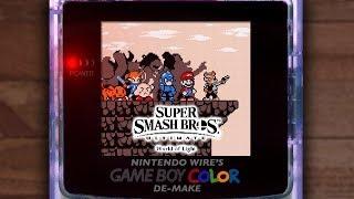 World of Light: Game Boy Color De-Make (Super Smash Bros. Ultimate)