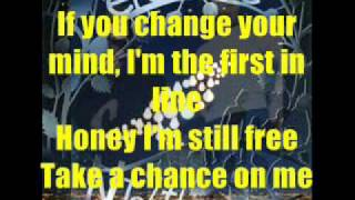 Erasure Take A Chance on Me with Lyrics by Jr