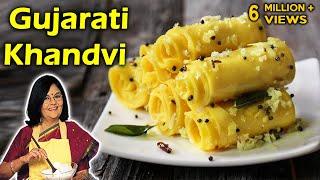 Gujarati Khandvi | गुजराती खांडवी | With Master Chef Tarla Dalal