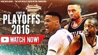 NBA playoffs 2016 Mix - Round 1 & 2 ᴴᴰ