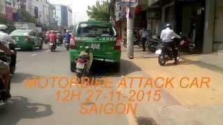 MAICO BỰA PHÓNG SỰ: TIN HOT - MOTORBIKE ATTACK TAXI
