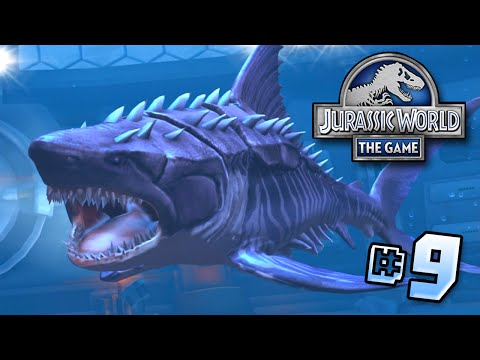 Hell's Aquarium! Megalodon MAX!! || Jurassic World - Lagoon Series - Ep 9 HD