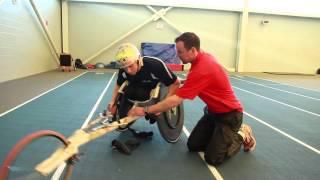 Wheelchair basic technique s