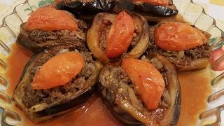 منزلة الباذنجان- طريقة تحضير منزلة الاسود الشامية بطريقة سهلة وبسيطة