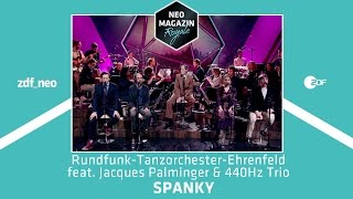 Rundfunk-Tanzorchester Ehrenfeld feat. Jacques Palminger & 440Hz Trio| NEO MAGAZIN ROYALE - ZDFneo