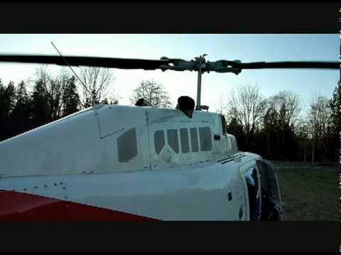 Very Cool Turbine Start Bell 206 Jet Ranger Startup