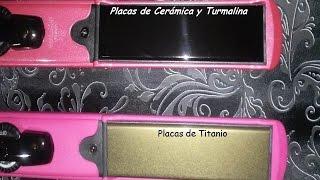 Cual es la Diferencia entre las Planchas de Ceramica, Turmalina y Titanio