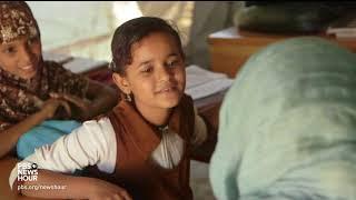 Scarred by war, Yemen