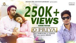 O Priya | Fahim Islam | Apurbo & Mehazabien | OST Of BEKAR |New Bangla Song 2018