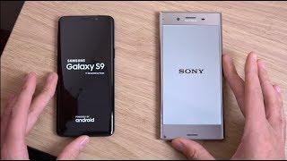 Samsung Galaxy S9 vs Sony Xperia XZ Premium - Which is Fastest?