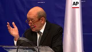 French FM: Paris will decide Syria response in next few days