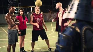 THIS IS COOL. Samurai In Brazil Performs Inconceivable Freestyle Football Skills