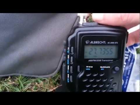 Albrecht AE 2990 AFS teszt 1