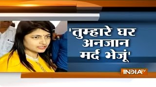Audio of Bulandshahr DM B Chandrakala Scolding Journalist in