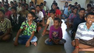 Patriotic Song by Sandipani students of Palamuru District
