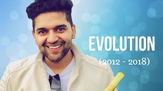 Guru Randhawa Evolution (2012 - 2018) | High Rated Gabru |  Lahore | Raat Kamaal hai