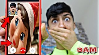 DO NOT FACETIME ELF ON THE SHELF AT 3AM!! *OMG HE ACTUALLY ANSWERED*