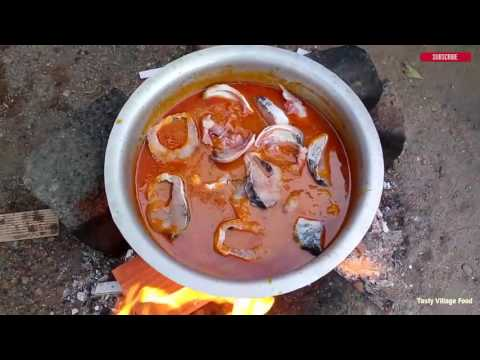 How to Cook Fish Curry -Village Style Cooking of Fish Curry Recipes -  Tasty Village Food Factory