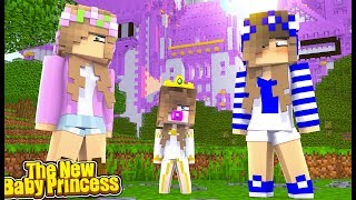 MEETING THE NEW PRINCESS OF THE MAGICAL KINGDOM! (Little Carly Minecraft).