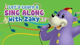 Let's Learn & Sing Along with Zaky - PREVIEW (Islamic Cartoon)