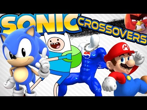 Every Official Sonic the Hedgehog Crossover UCoW