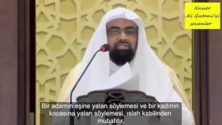 Cuma Vaazı - Nasser Al Qatami - Yalan Söylemenin Mubah Olduğu Yerler