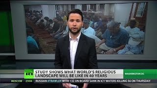 Muslims fastest growing religious population, will match Christians by 2050 – report