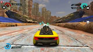Cyberline Racing / Death Car Racing Games / Android Gameplay FHD #2