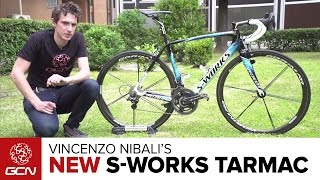 Vincenzo Nibali's NEW Custom Specialized S-Works Tarmac | Giro D'Italia 2016
