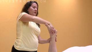 How to Massage Ankle Sprains