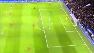 Chelsea vs Liverpool. 1-0 Capital One Cup. English Commentary. 27-Jan-2015