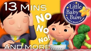 No No No! Vegetables | Nursery Rhymes and Kids Songs | By Little Baby Bum