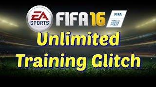 FIFA 16- Unlimited Training Glitch