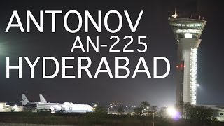 Antonov AN-225 'Mriya' Landing At Hyderabad For The First Time! [Full Video]