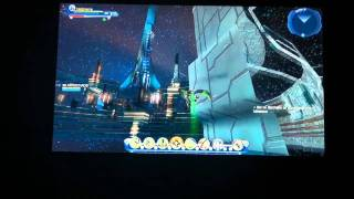 DCUO Glitch flying in space Dc universe online