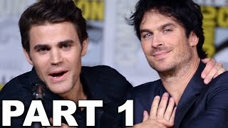 The Vampire Diaries Panel Highlights Part 1 - Comic Con 2016