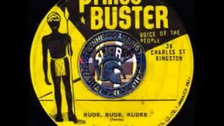 Prince Buster   Rude Rude Rudee