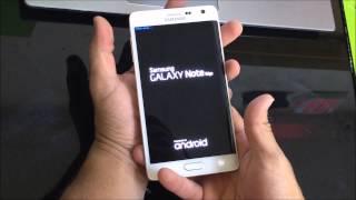 Como Resetear | Desbloquear | Formatear el Samsung Galaxy Note Edge ★ Hard Reset