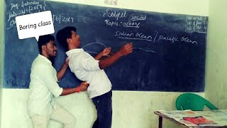 The Boring class room||disturbing the teacher||Kannada version comedy video