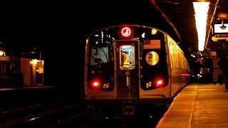 MTA New York City Subway : Chauncey Street ft. R179 Test Train  [ BMT Nassau Street / Jamaica Line ]