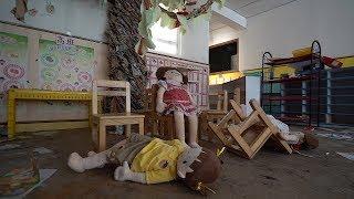 Abandoned Hong Kong School Creepy Dolls Everywhere!