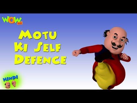 Motu Ki Self Defence - Motu Patlu in Hindi