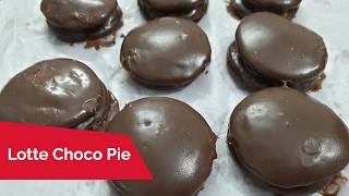 How to make Lotte Choco Pie - easy recipe