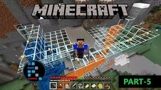 [Hindi] MINECRAFT GAMEPLAY | MOVING TO MY NEW BASE & CREATING UNDERGROUND RAIL#5