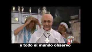 No-noticias || El Che Papa || Videoclip (Parodia) sobre el Papa Argentino Francisco l